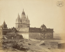 General view of Jain temple at Sonagir